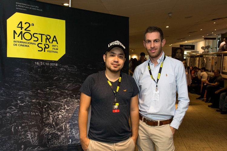 Reserva Cultural 1/ 42ª Mostra Internacional de Cinema/São Paulo Int`l Film Festival/ Apresentação do filme A História da Pedra - Starr Wu e Peter Millar