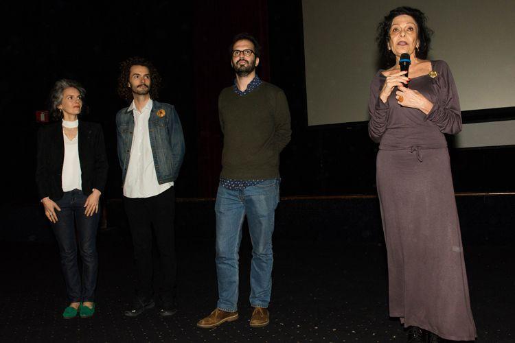 Cinearte Petrobrás 1/ 42ª Mostra Internacional de Cinema/São Paulo Int`l Film Festival/ Apresentação do filme Frans Krajcberg - Manifesto com Regina Jehá e equipe