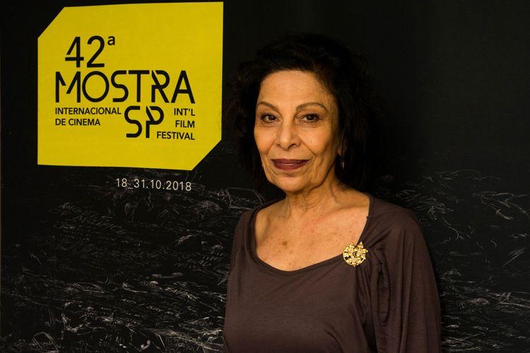 42ª Mostra Internacional de Cinema/São Paulo Int`l Film FestivalSão Paulo - Regina Jehá, diretora do filme Frans Krajcberg - Manifesto