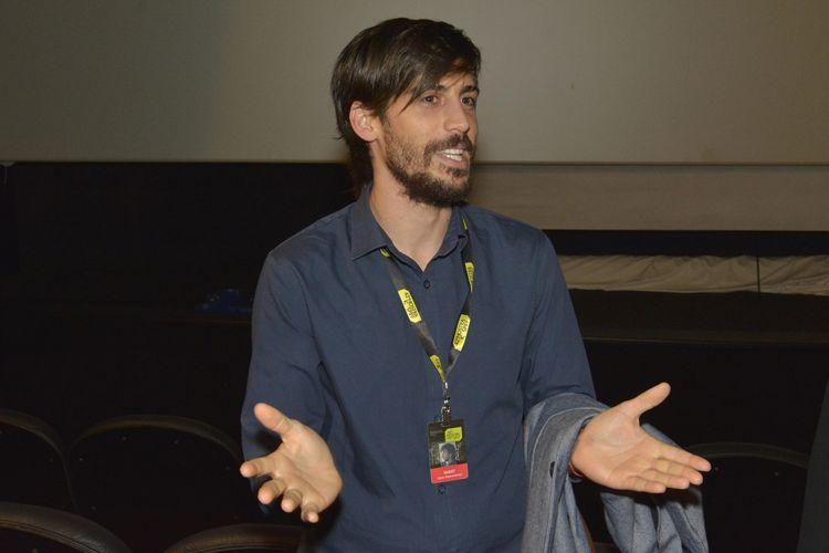 Espaço Itaú de Cinema Frei Caneca 4/ 42ª Mostra Internacional de Cinema/São Paulo Int`l Film Festival  - Darío Mascambroni apresenta o filme Mochila de Chumbo