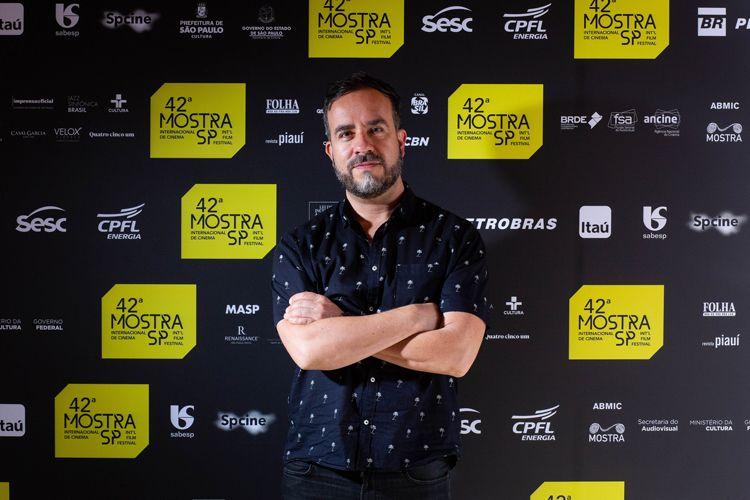42ª Mostra Internacional de Cinema/São Paulo Int`l Film Festival - Diego Araújo, diretor do filme Buraco Negro
