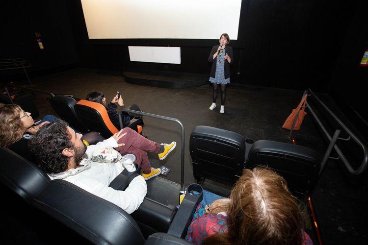 Espaço Itaú de Cinema Augusta Anexo 4/ 42ª Mostra Internacional de Cinema/São Paulo Int`l Film Festival - Debate do filme Garotos que Gostam de Garotas com a diretora Inka Achté