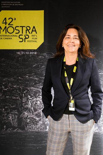42ª Mostra Internacional de Cinema/São Paulo Int`l Film Festival - Maria Carlota Bueno, produtora do filme Deslembro
