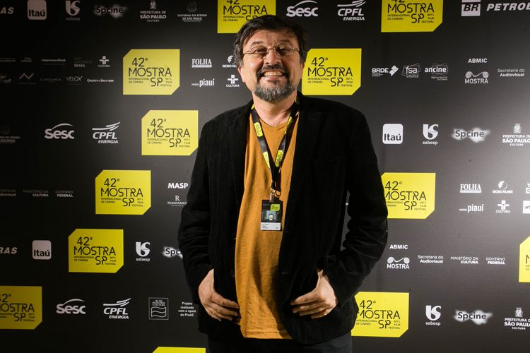 42ª Mostra Internacional de Cinema/São Paulo Int`l Film Festival - Joel Pizzini, diretor do filme Rio da Dúvida
