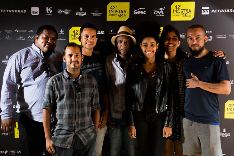 42ª Mostra Internacional de Cinema/São Paulo Int`l Film Festival/ Equipe do filme Azougue Nazaré