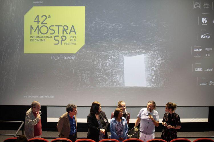 Reserva Cultural 1/ 42ª Mostra Internacional de Cinema/São Paulo Int`l Film Festival - Apresentação do filme Uma Noite Não é Nada com o diretor Alain Fresnot e equipe