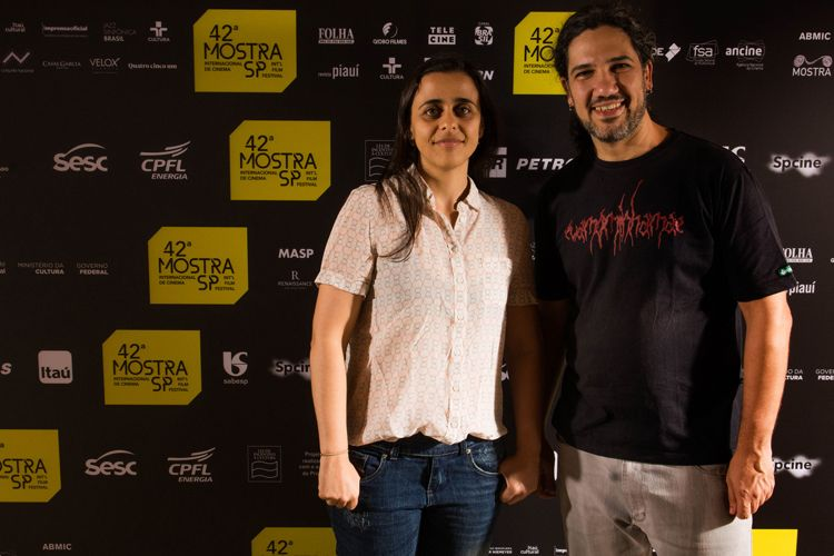 42ª Mostra Internacional de Cinema/São Paulo Int`l Film Festival - Giovanna Giovaninni e Rodrigo Boecker, diretores do filme Um dia Para Susana