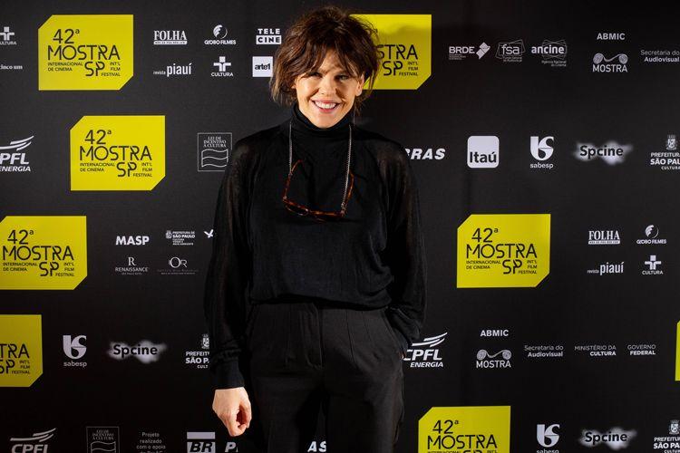 42ª Mostra Internacional de Cinema/São Paulo Int`l Film Festival - Bárbara Paz, diretora do filme Conversa com Ele