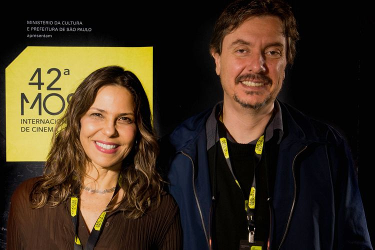 42ª Mostra Internacional de Cinema/São Paulo Int`l Film Festival - Mariana Marinho, produtora, e Marco Abujamra, roteirista do filme Clementina