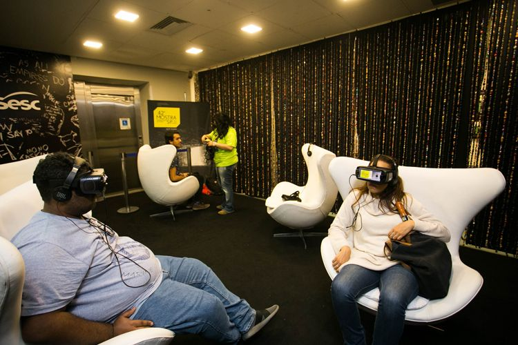 CineSesc/ 42ª Mostra Internacional de Cinema/São Paulo Int`l Film Festival - Filmes em Realidade Virtual