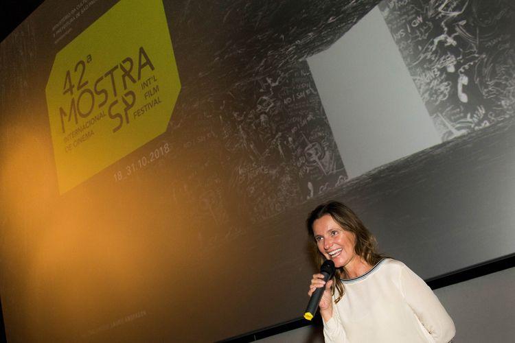Espaço Itaú e Cinema Frei Caneca 1/ 42ª Mostra Internacional de Cinema/São Paulo Int`l Film Festival - Apresentação do filme Raiva com a atriz Leonor Silveira