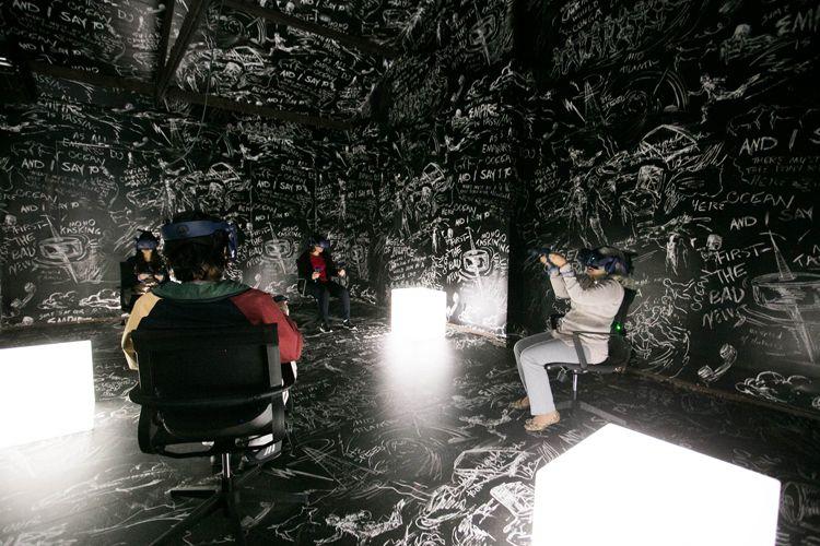 Anexo CineSesc/ 42ª Mostra Internacional de Cinema/São Paulo Int`l Film Festival - Instalação The Chalkroom