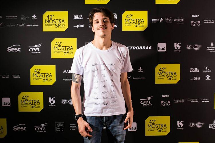 42ª Mostra Internacional de Cinema/São Paulo Int`l Film Festival - Daniel Gonçalves, diretor do filme Meu Nome é Daniel