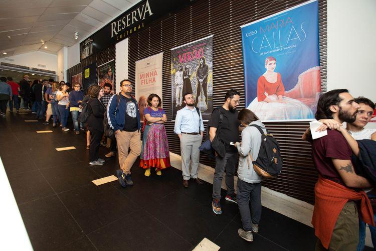 42ª Mostra Internacional de Cinema/São Paulo Int`l Film Festival - Público do Filme Imagem e Palavra