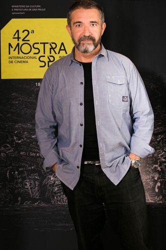 42ª Mostra Internacional de Cinema/São Paulo Int`l Film Festival - Sérgio Tréfaut, diretor do filme Raiva