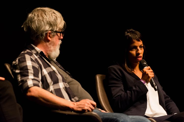 Itaú Cultural/ 42ª Mostra Internacional de Cinema/São Paulo Int`l Film Festival/ II Fórum Mostra - Mesa 1 - Fim das Fronteiras: mescla entre linguagens e formatos - Otto Guerra (diretor), Priscila Guedes (Anablps XR)
