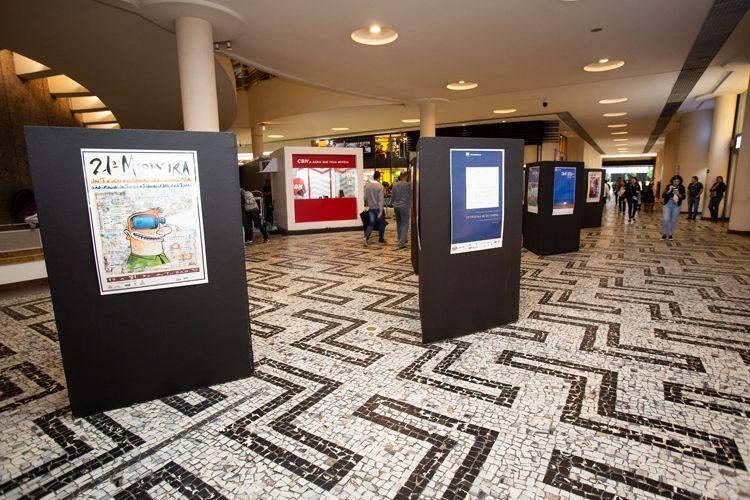 Conjunto Nacional/42ª Mostra Internacional de Cinema/São Paulo Int`l Film Festival -  Central da Mostra - Exposição de pôsters da Mostra