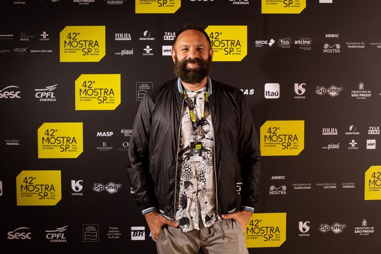42ª Mostra Internacional de Cinema/São Paulo Int`l Film Festival - Sérgio Andrade, diretor do filme A Terra Negra dos Kawa