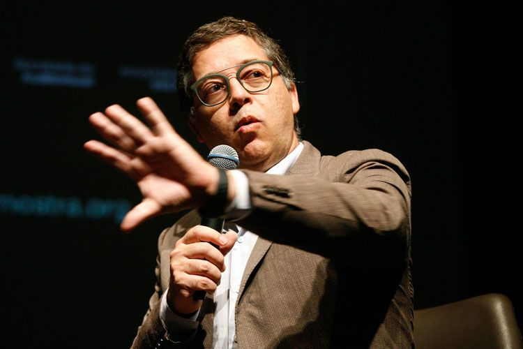 Itaú Cultural/ 42ª Mostra Internacional de Cinema/São Paulo Int`l Film Festival/ II Fórum Mostra - Mesa 8 - Sustentabilidade da cultura: entre o público e o privado - Eduardo Saron (Itaú Cultural)