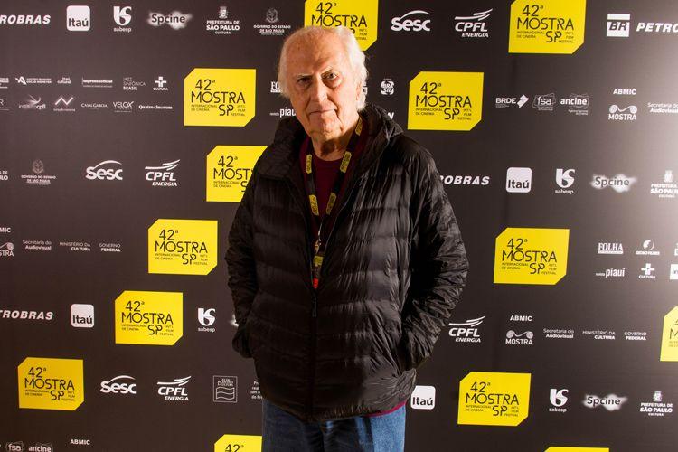 42ª Mostra Internacional de Cinema/São Paulo Int`l Film Festival - Fernando Solanas, diretor de La Hora de Los Hornos e Viaje A Los Pueblos Fumigados