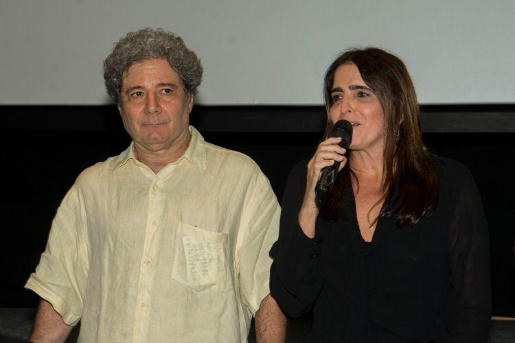 CineSesc/ 42ª Mostra Internacional de Cinema/São Paulo Int`l Film Festival - Apresentação especial do filme Feliz Ano Velho - Roberto Gervitz, Malu Mader