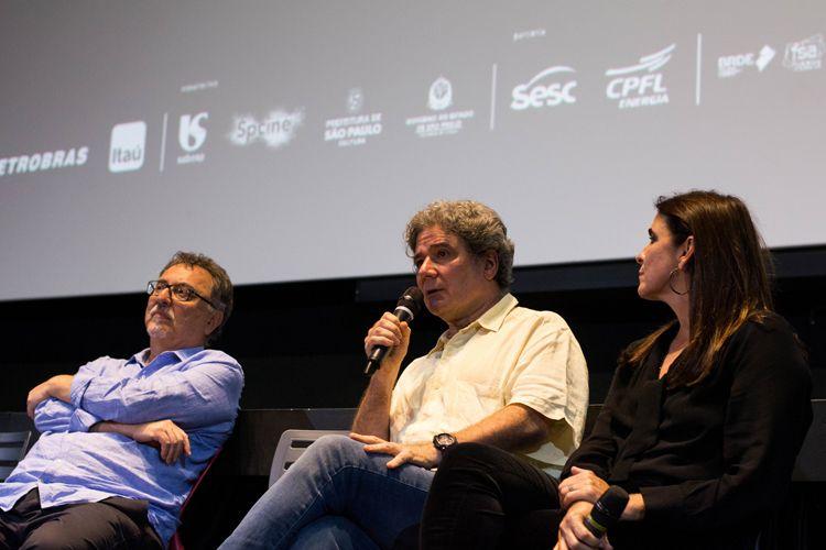 CineSesc/ 42ª Mostra Internacional de Cinema/São Paulo Int`l Film Festival - Apresentação especial do filme Feliz Ano Velho - Claudio Kahns, Roberto Gervitz, Malu Mader
