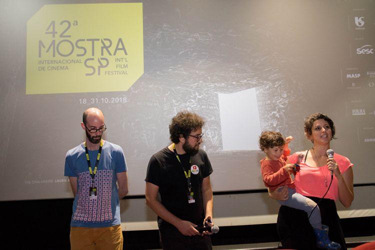 Reserva Cultural 1/ 42ª Mostra Internacional de Cinema/São Paulo Int`l Film Festival - Apresentação do filme Los Silencios com a diretora Beatriz Seigner  e equipe