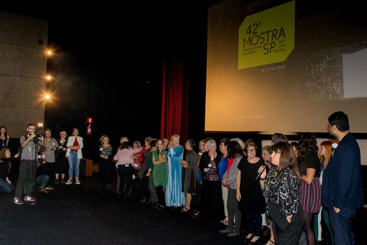 Cinearte Petrobrás 1/ 42ª Mostra Internacional de Cinema/São Paulo Int`l Film Festival - Apresentação do filme Torre das Donzelas com a diretora Susanna Lira, equipe e elenco