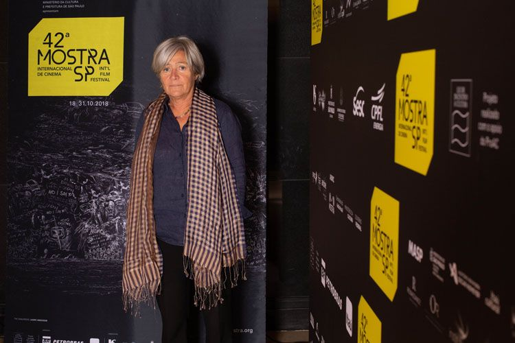 42ª Mostra Internacional de Cinema/São Paulo Int`l Film Festival - Catherine Dussart, produtora dos filmes Túmulos sem Nome e Um Trem em Jerusalém