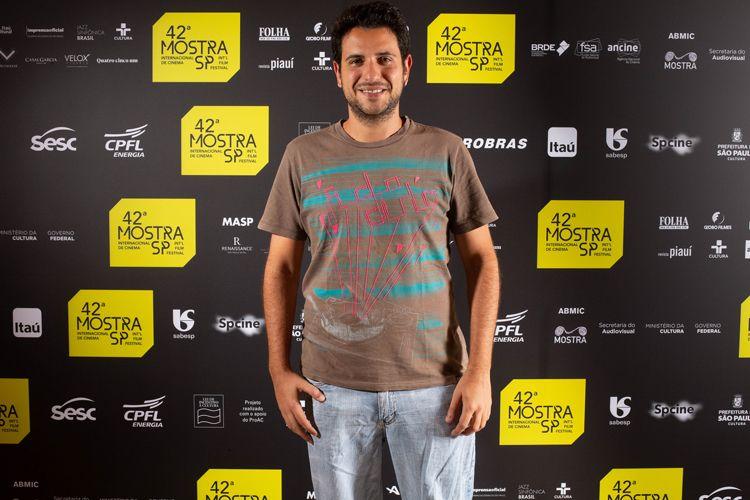 42ª Mostra Internacional de Cinema/São Paulo Int`l Film Festival -  Ary Rosa, diretor do filme Ilha