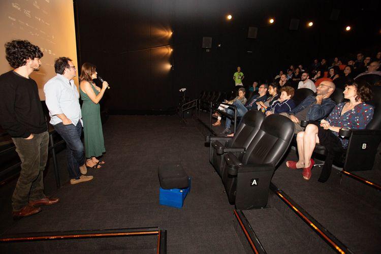 Espaço Itaú de Cinema Frei Caneca 1/ 42ª Mostra Internacional de Cinema/São Paulo Int`l Film Festival - Apresentação do filme Sueño Florianópolis com a produtora Camila Groch e o produtor Beto Gauss