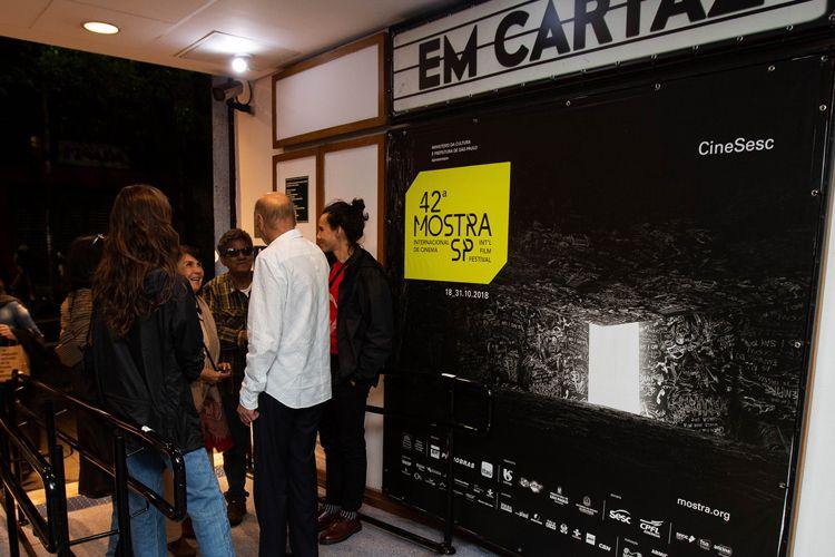Cinesesc/ 42ª Mostra Internacional de Cinema/São Paulo Int`l Film Festival -  Entrega do Prêmio Humanidade para Dráuzio Varella com exibição dos filmes Conversa com Ele e Pixote