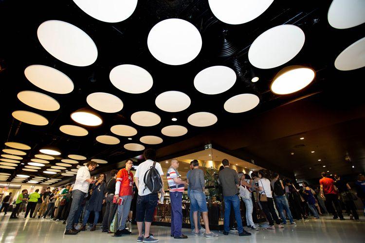 Espaço Itaú de Cinema Frei Caneca/ 42ª Mostra Internacional de Cinema/São Paulo Int`l Film Festival -  Público do filme UtØya - 22 de /julho