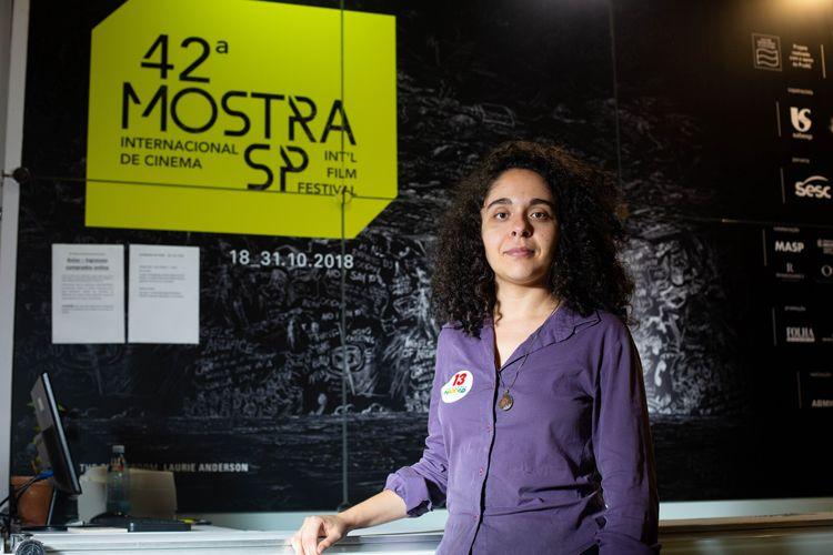 42ª Mostra Internacional de Cinema/São Paulo Int`l Film Festival - Bruna Laboissière, diretora do filme Fabiana
