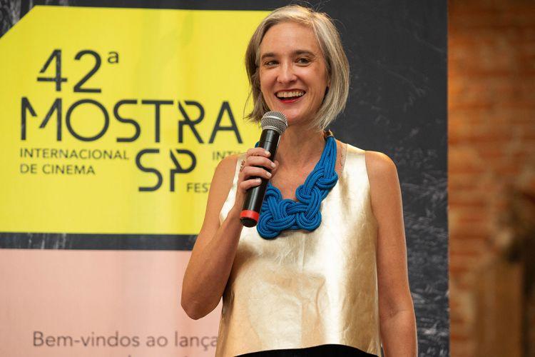 Cinemateca Brasileira/ 42ª Mostra Internacional de Cinema/São Paulo Int`l Film Festival - Entrega do Prêmio Olga Rabinovich - Josephine Burgois