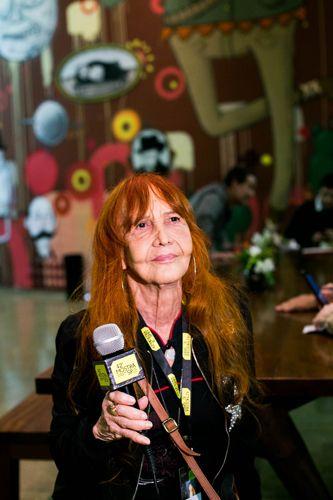 Cinemateca Brasileira Sala BNDES/ 42ª Mostra Internacional de Cinema/São Paulo Int`l Film Festival - Apresentação do filme O Bandido da Luz Vermelha com a atriz Helena Ignez