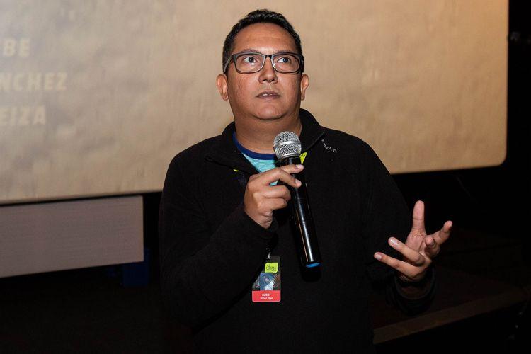 Espaço Itaú de Cinema Frei Caneca 2/ 42ª Mostra Internacional de Cinema/São Paulo Int`l Film Festival - Apresentação do filme Sal com o diretor William Vega