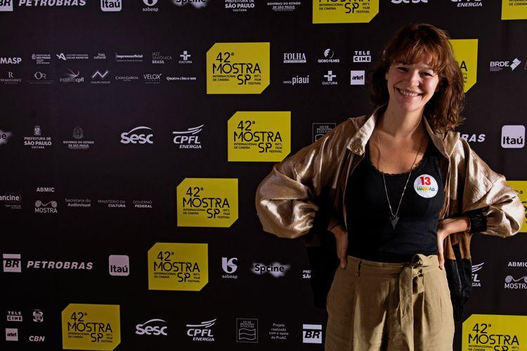 42ª Mostra Internacional de Cinema/São Paulo Int`l Film Festival - Joana de Verona, atriz do filme Pedro e Inês: O Amor Não Descansa