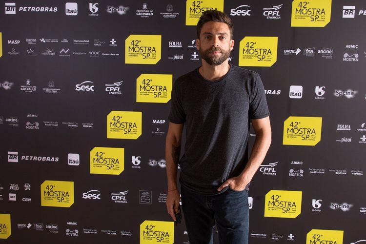 42ª Mostra Internacional de Cinema/São Paulo Int`l Film Festival - Diogo Amaral, ator do filme Pedro e Inês: O Amor Não Descansa