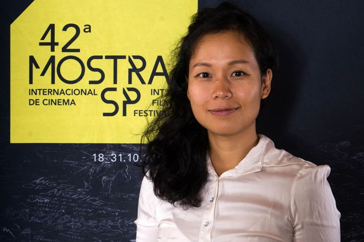42ª Mostra Internacional de Cinema/São Paulo Int`l Film Festival - Ash Mayfair, diretora do filme A Terceira Esposa