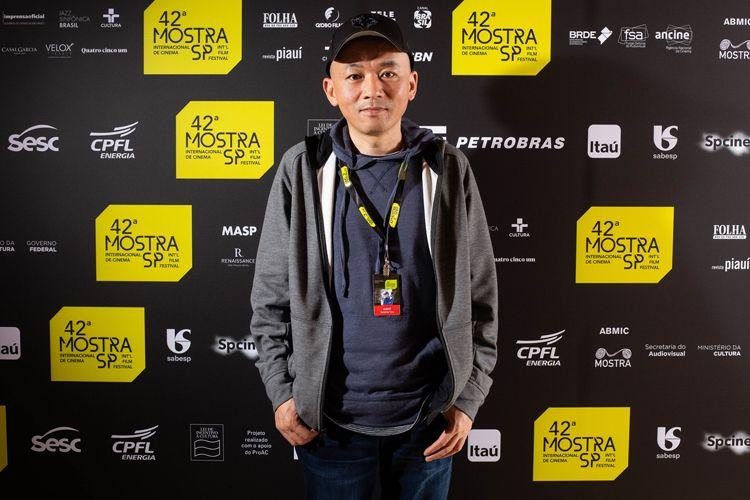 Espaço Itaú de Cinema Frei Caneca 5/ 42ª Mostra Internacional de Cinema/São Paulo Int`l Film Festival - Gaopeng Tang, diretor do filme O Caminho não Tomado
