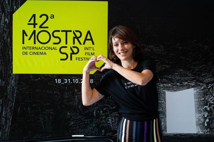 42ª Mostra Internacional de Cinema/São Paulo Int`l Film Festival - Diane Maia, produtora do filme THF: Aeroporto Central
