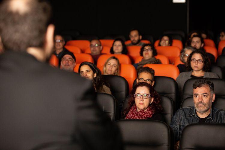 Espaço Itaú de Cinema Augusta 1/ 42ª Mostra Internacional de Cinema/São Paulo Int`l Film Festival - Apresentação dos filmes Omindá - Showfilme  e Omindá - A União do Mundo Pelas Águas, com o diretor André Abujamra