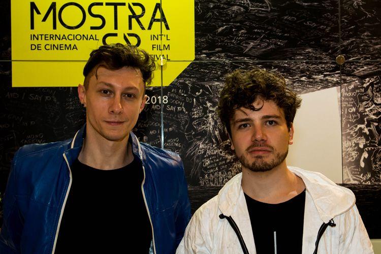 42ª Mostra Internacional de Cinema/São Paulo Int`l Film Festival - Márcio Reolon e Felipe Matzembacher, diretores do filme Tinta Bruta