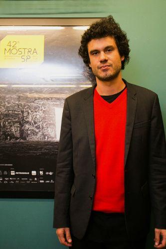 42ª Mostra Internacional de Cinema/São Paulo Int`l Film Festival - Felipe Barbosa, diretor do filme Domingo