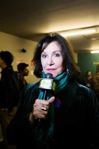 42ª Mostra Internacional de Cinema/São Paulo Int`l Film Festival - Itala Nandi, atriz do filme Domingo