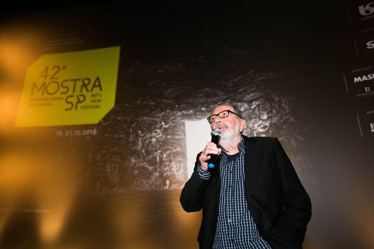 Espaço Itaú de Cinema Pompeia/ 42ª Mostra Internacional de Cinema/São Paulo Int`l Film Festival - Apresentação do filme O Grande Circo Místico, com o diretor Cacá Diegues, elenco e equipe