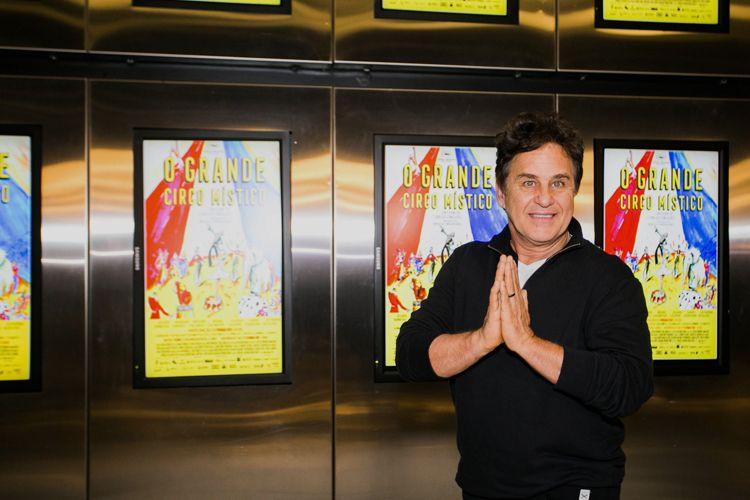 42ª Mostra Internacional de Cinema/São Paulo Int`l Film Festival - Marcos Frota, ator do filme O Grande Circo Místico