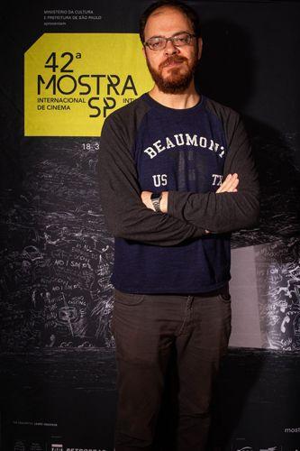 42ª Mostra Internacional de Cinema/São Paulo Int`l Film Festival - André Ristum, diretor do filme A Voz do Silêncio