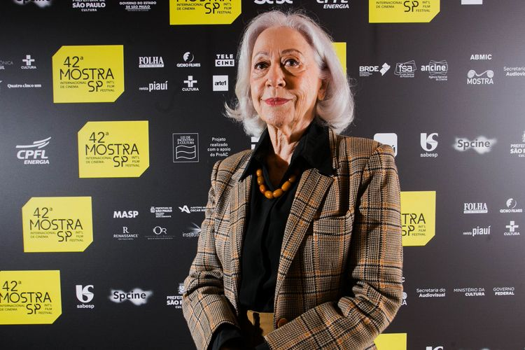42ª Mostra Internacional de Cinema/São Paulo Int`l Film Festival - Fernanda Montenegro, atriz de Central do Brasil